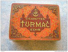 Autres collections > Tabac (objets liés) > Boites à tabac vides / turmac edib - Delcampe.net