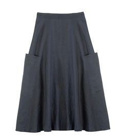 100% linen midi skirt from Gorman Clothing