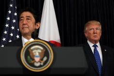 Japanese Prime Minister Shinzo Abe and U.S. President Trump at Mar-a-Lago in Florida on Feb. 11. (Carlos Barria/Reuters)  If there's anything that President Trump dislikes about certain trading partners, it's their tendency to export more to the United States than they import. During the... http://usa.swengen.com/a-contradiction-at-the-heart-of-president-trumps-economic-policy/