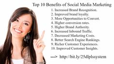 The #Top 10 #Benefits Of #Social #Media #Marketing... http://wu.to/KWBsRT