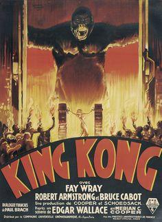 King Kong - Fay Wray - Robert Armstrong - Bruce Cabot - 1933