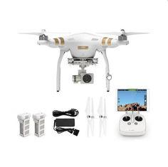 https://www.i-sabuy.com/ DJI Phantom 3 Professional Drone โดรนถ่ายภาพ (สีขาว) With Extra Battery