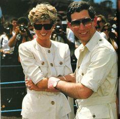 12/07/93 Princess Diana at ..... with the Red Cross in Mazerera Zimbabwe. ??????????