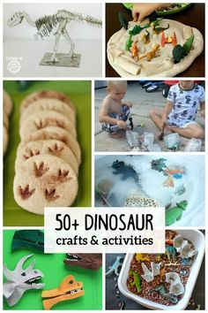 If your kids love dinosaurs like mine does ,they will love all of these fun dinosaur crafts and activities!