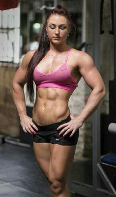 Nacktbild weibliches Fitness-Modell