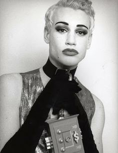 Richie Rich - NYC club kids 'originals' - pinned by RokStarroad.com Michael Alig, Amanda Lepore, Leigh Bowery, Goth Kids, Richie Rich, Monster Party, Party Monsters, New Romantics, Club Kids