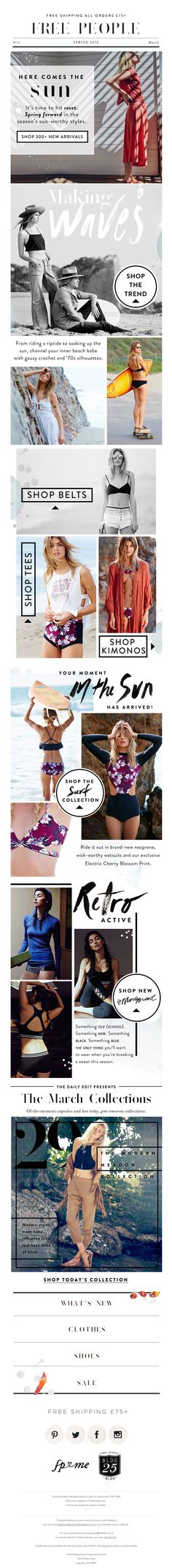 Free People E-mail