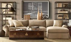Engineered Masculine Living Room