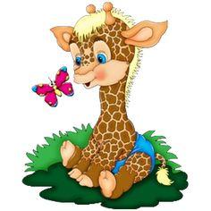 cute_baby_cartoon_giraffe_image_6.png (600×600)