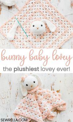 Mesmerizing Crochet an Amigurumi Rabbit Ideas. Lovely Crochet an Amigurumi Rabbit Ideas. Crochet Amigurumi, Crochet Bunny, Crochet Animals, Crochet Toys, Crochet Blanket Patterns, Baby Blanket Crochet, Newborn Crochet, Knitting Patterns Baby, Crochet Lovey Free Pattern