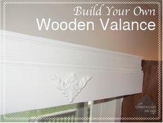 Making a Wooden Valance