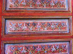 Door panels in Rabat, Morocco