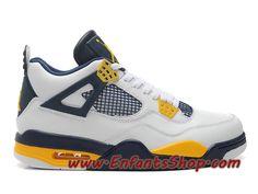 Air Jordan 4 Retro Marquette Chaussures Jordan Basket Pas Cher Pour Homme Blanc Jaune h012mnjdls247 Jordan 4, Jordans Sneakers, Air Jordans, Baskets Jordan, Basket Pas Cher, Kicks Shoes, Site Officiel, Dressing Room, Fashion