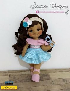 Sewing Projects Toys Christmas Ornament 19 Ideas For 2019 Sewing Machine Projects, Sewing Projects For Kids, Sewing For Kids, Diy For Kids, Sewing Kids Clothes, Sewing Dolls, Felt Diy, Felt Crafts, Soft Dolls