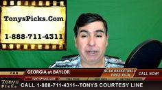 Georgia Bulldogs vs. Baylor Bears Pick Prediction NCAA College Basketbal...