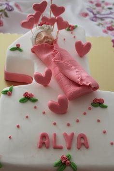 1 yaş pastası, sugar cake, fondant ,
