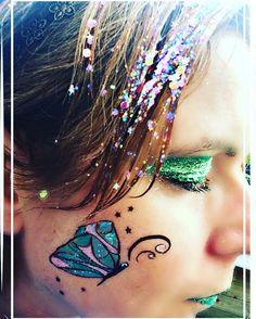 #inspirationtopaint #mehronglitter #pixiegel #butterfly #facepaint #dutchie #kleurtjesvanjade #cheekart #pretty #happydance #lovethis