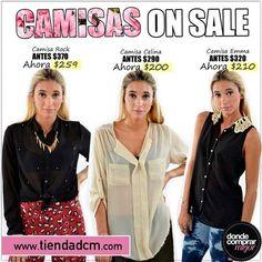 Donde Comprar Mejor ¡#SALE de camisas! ¡Aprovechalo! www.tiendadcm.com/listado/Camisas/27736