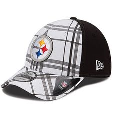 b1d9d745455 Pittsburgh Steelers New Era Plaidtastic 39THIRTY Structured Flex Hat -  Official Online Store Football Is Life