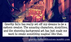 Gravity Falls Confessions