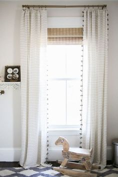 Little Boy Bedroom Sets Catalogue: Catchiest Ninja Turtle Furniture Nursery decor ideas – striped bedroom curtains, neutral wall color, rocking horse, and a bold [. Boys Bedroom Sets, Trendy Bedroom, Kids Bedroom, Bedroom Ideas, Baby Bedroom, Bedroom Wall, Baby Boy Bedding, Room Baby, Shared Bedrooms