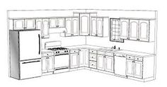 Image result for 7 x 8 kitchen design