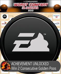EA Makes Worst Company In America History, Wins Title For Second Year In A Row!--Consumerist