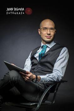 Foto de perfil profesional para Mark Falcó. Ingeniero y formador.