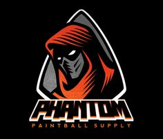 Phantom Paintball Logo | Designer: REDPIN Design
