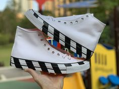 "Off White x Converse Chuck 70 ""Stripe"" Review – Sean Go"