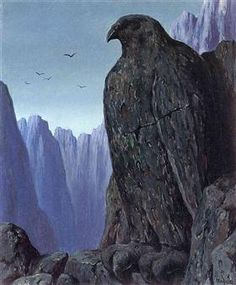 The wasted footsteps - Rene Magritte