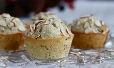 Almond Poppy Seed Muffins- yourcupofcake.com