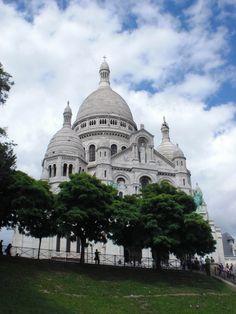 Sacre Cour, Paris France