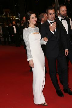 Rachel Weisz in Louis Vuitton and Colin Farrell