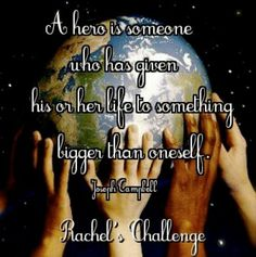 Rachel's challenge Rachels Challenge, Rachel Scott, What Is Love, My Love, High School Students, Christian Inspiration, Bullying, Counseling