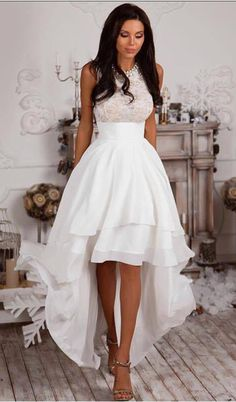 Homecoming Dress,Homecoming Dresses,High Low Homecoming Dresses,Lace Homecoming Dresses,High