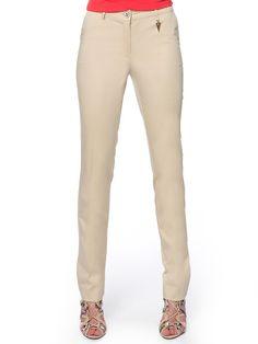 #beige_pants#long Beige Pants, Khaki Pants, Slim Fit Pants, Long Pants, Workout Pants, Capri Pants, Fitness, Outfits, Fashion