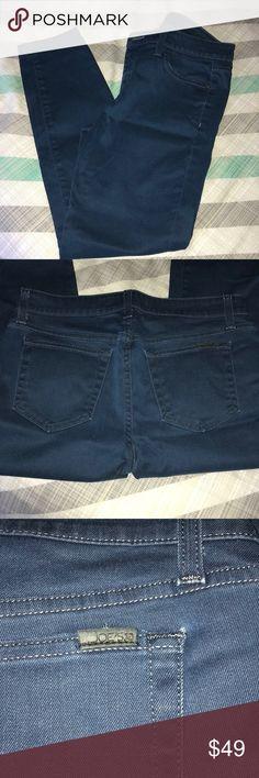 "Joe's The High Water jeans Dark blue JOE's 5-pocket Jeans, Women's size 29.  Fit: ""The High Water"" Gently worn, no holes stains or wear!  Inseam ~27"" Joe's Jeans Jeans Skinny"