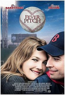 """""""Fever Pitch"""" filmed in 2005 starring Drew Barrymore, Jimmy Fallon and the Boston Red Sox."""