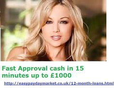 instant visit at http://easypaydaymarket.co.uk/12-month-loans.html for fast approval loans...