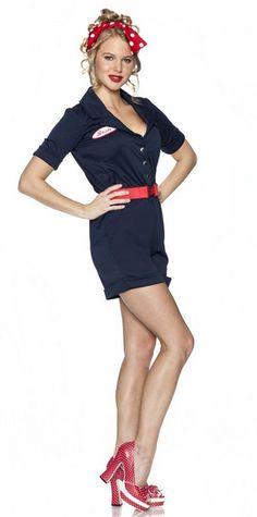 rosie riveter costume retro vintage