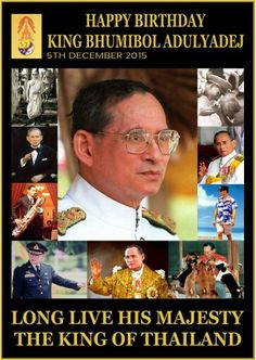 Long Live His Majesty The King Of Thailand