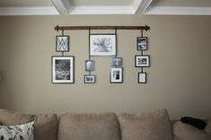 Wilsons and Pugs: Studio Wall Easel Ikea Frames, Hanging Frames, Diy Hanging, Diy Picture Rail, Picture Wall, My Living Room, Living Room Decor, Wall Decor Pictures, Hanging Pictures