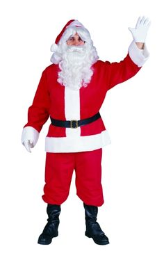 Plush Santa Suit by RG Costumes and Accessories