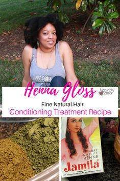 Henna Gloss Conditioning Treatment For Fine Thin Hair - Hair Loss - Hair Treatment Fine Natural Hair, Natural Hair Growth Tips, Natural Hair Regimen, Natural Hair Styles, Henna Natural Hair, Natural Haircare, Natural Women, Natural Skin, Hair Conditioning Treatment