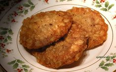Dukanovy placky - recept Buckwheat, What To Cook, Crackers, Cauliflower, Paleo, Bread, Meals, Chicken, Vegetables