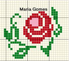 1 million+ Stunning Free Images to Use Anywhere Easy Cross Stitch Patterns, Simple Cross Stitch, Diy Crafts Rose, Hippie Crochet, Rug Hooking Patterns, Free To Use Images, Embroidery Flowers Pattern, Craft Free, Perler Patterns