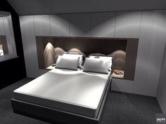 Mooi meubel rond bed ...