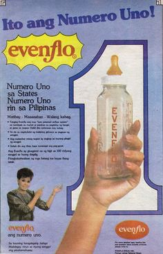 Helen Vela in Evenflo ad. Vintage Ads, Vintage Photos, Philippine Art, Philippines Culture, Number 12, Filipiniana, Commercial Ads, Old Advertisements, Tagalog