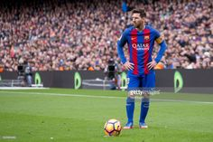 Leo Messi during the spanish league match between FC Barcelona and Athletic Club de Bilbao in Barcelona, on February 4, 2017.